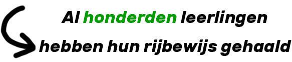 Leerlingen geslaagd bij Rijschool Rotterdam
